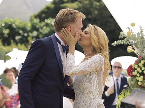 Constantia Cape Town Wedding Film White Lines